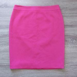 NWT Pink trendy pencil skirt